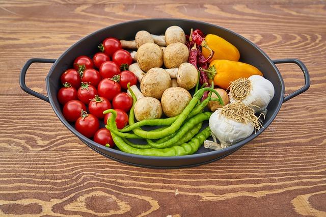 zelenina v pánci