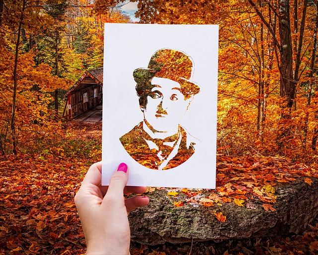silueta Chaplina