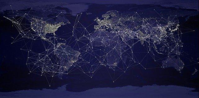 síť propojující svět
