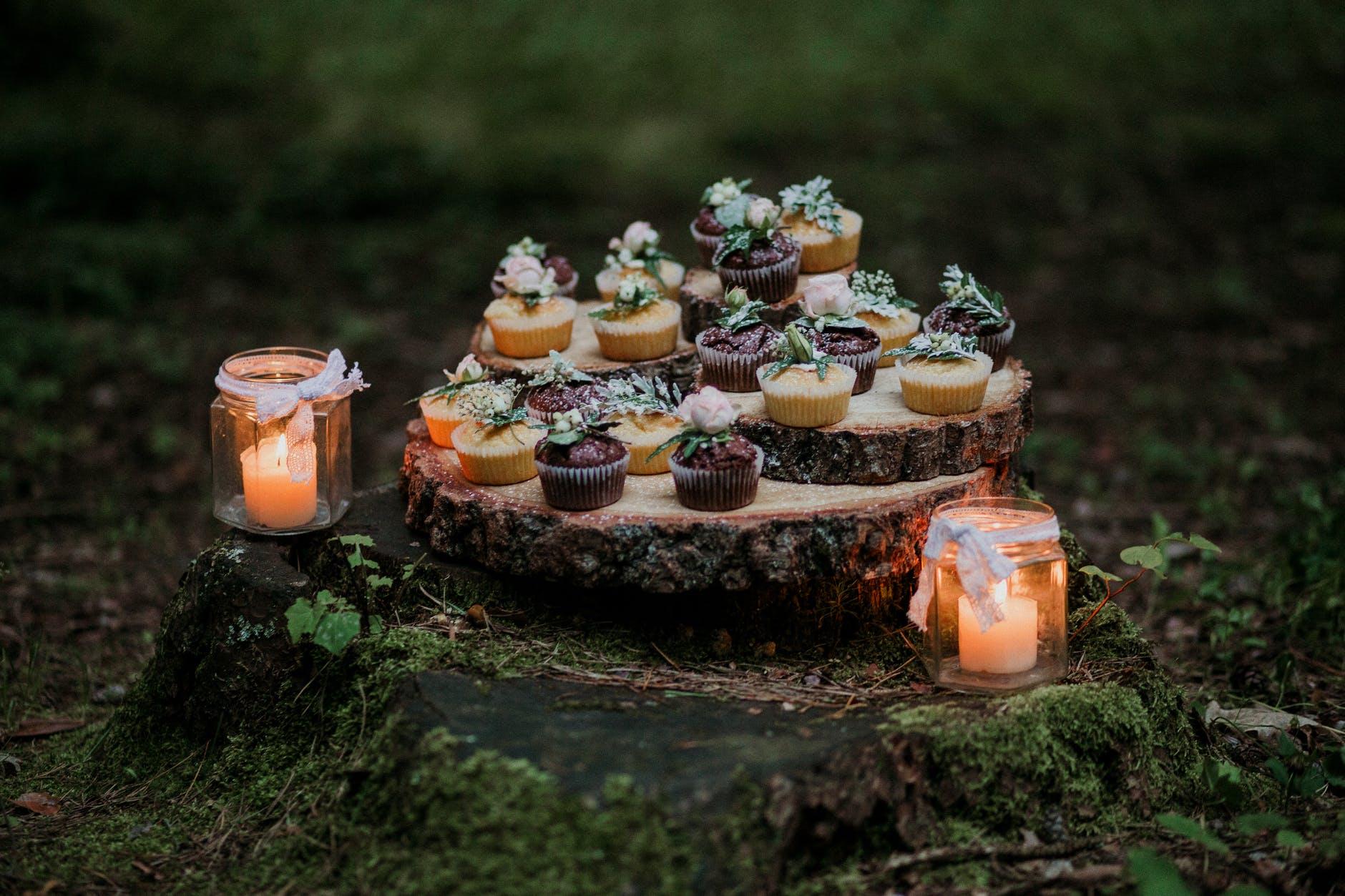 svíčky jako dekorac